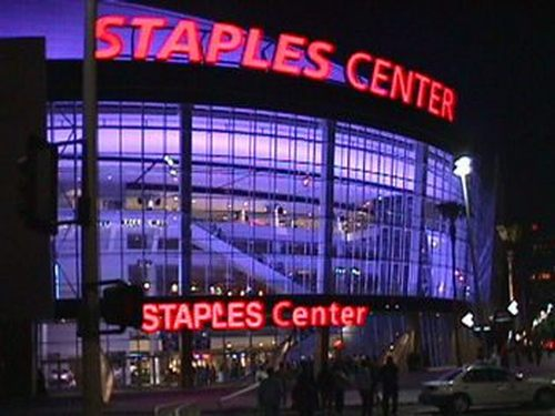 Take a Limo to the Staples Center